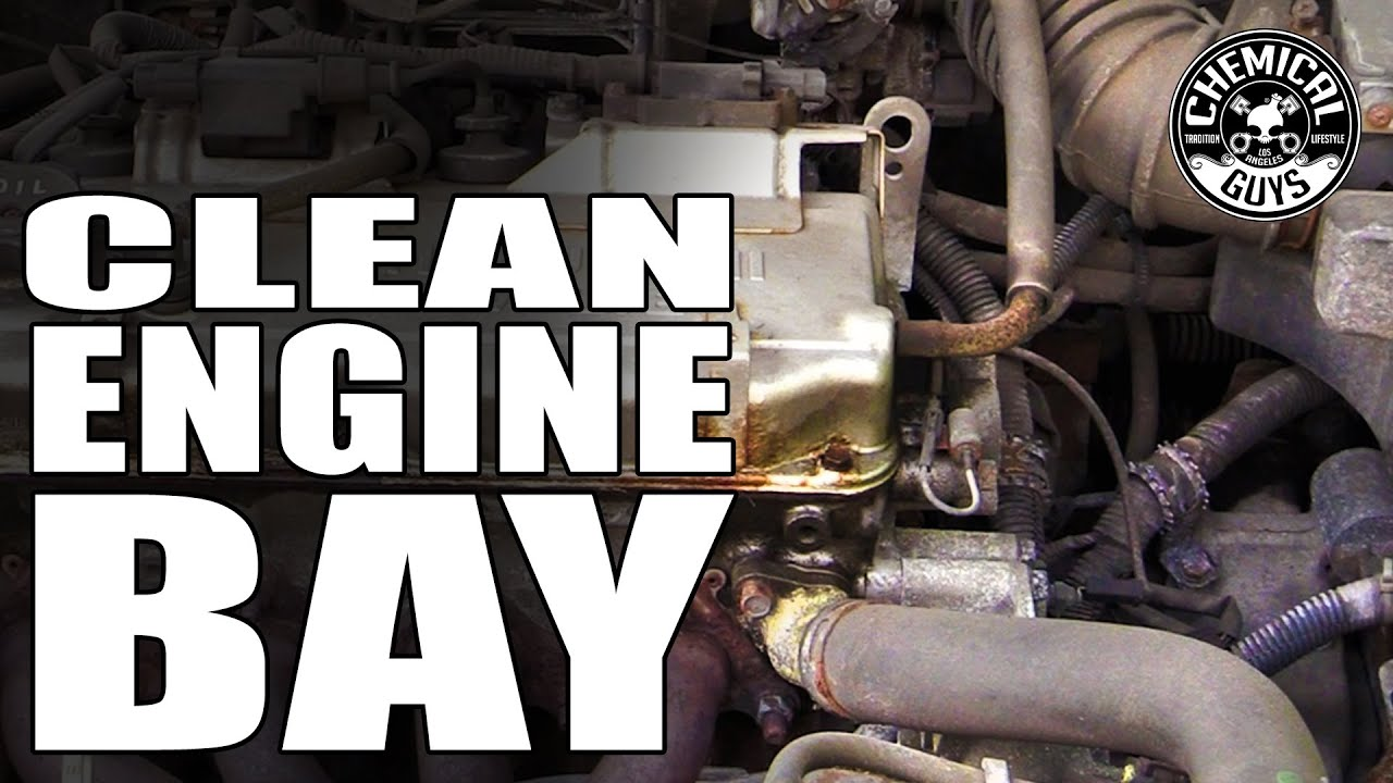 All Purpose Cleaner >> How To Clean Engine Bay - AllClean+ All Purpose Super Cleaner - Chemical Guys HEMI CHARGER - YouTube