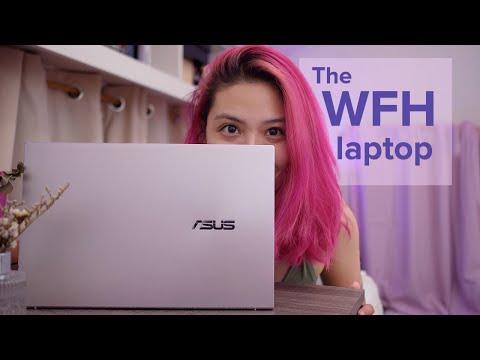 ASUS ZenBook 14 UX425 LILAC MIST unboxing + WFH laptop test