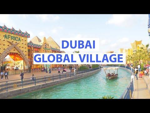 GLOBAL VILLAGE DUBAI 2017-2018 | Food Tour