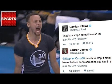 STEPH CURRY Has Broken The NBA! | Was The Warriors vs. Thunder Game Of The Year?