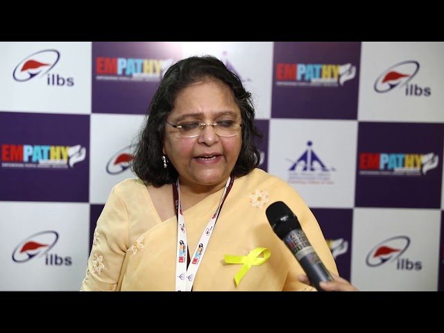 Dr  Seema Alam  at Empathy Conclave 2019