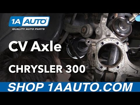 How to Install Replace Rear CV Axle Half Shaft 2006 Chrysler 300