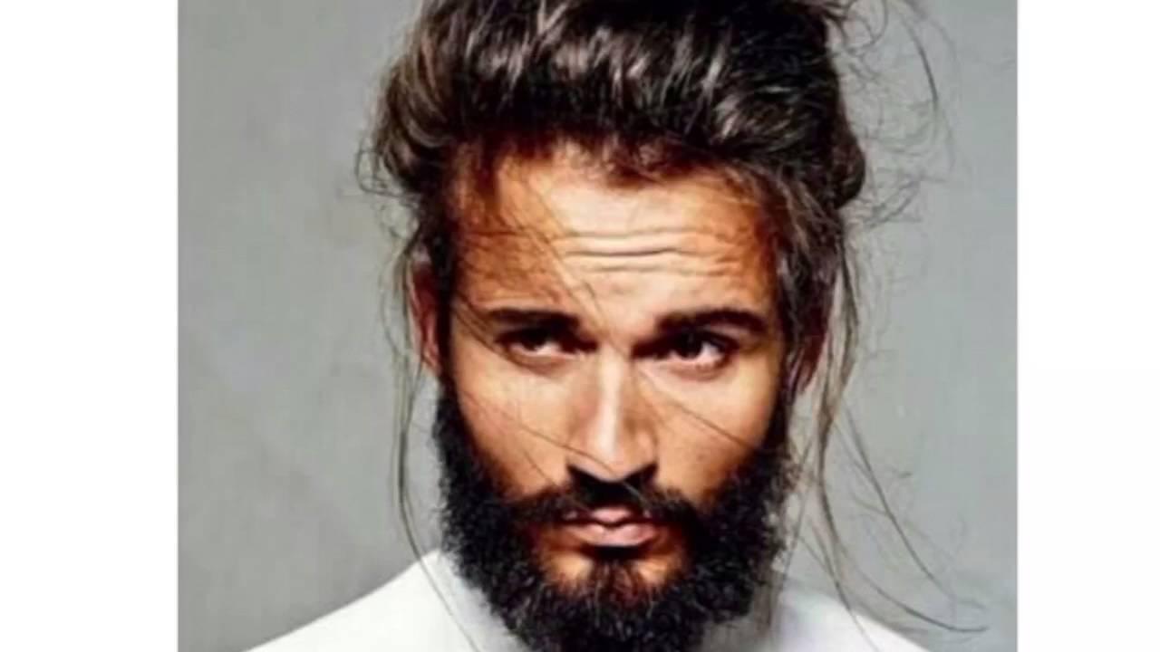 Ideas De Peinados Para Hombres Con Cabello Largo Youtube - Peinado-hombre-largo