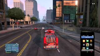 Hottest Avatar Stealing and Escaping with a Fire Truck GTA5 | EscapeArtist