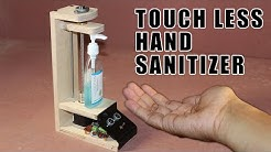 DIY Arduino based Touch Free Hand sanitizer dispenser