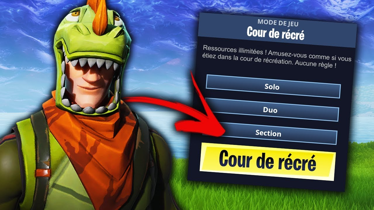 Les Futurs Modes De Jeu Sur Fortnite Battle Royale