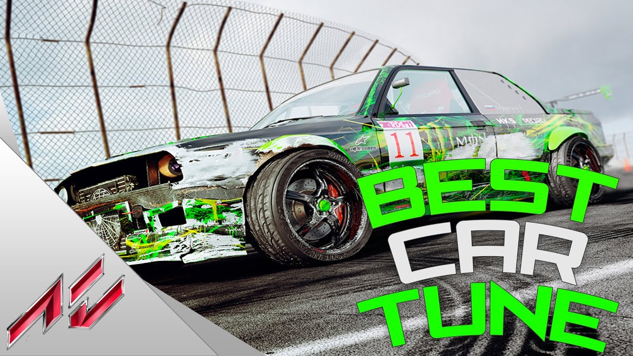 Assetto Corsa PS4 - Best Drift Car Tune! (Works For Every Car)