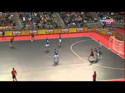 Euro 2012 di futsal highlights Italia - Spagna