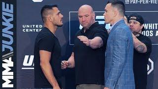 Who Ya Got?!? Dos Anjos vs. Covington at UFC 225