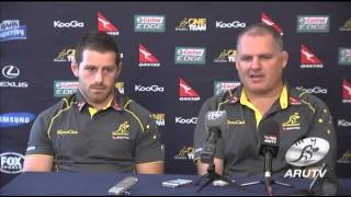 TRC 2013: Genia & Foley looking forward to the opportunity