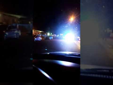 San Bernardino police going code 3