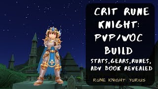 Crit Rune Knight: PVP/WOC Build