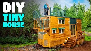 Diy Tiny House With Rooftop Deck