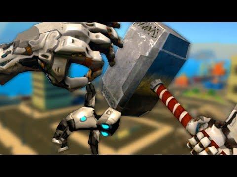 GIANT ROBOT THOR - VRobot Gameplay (VR)