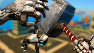 GIANT ROBOT THOR - VRobot Gameplay (VR)