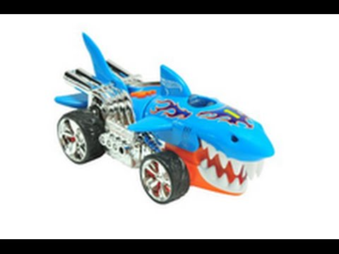 hot wheels shark requin voiture jouet avec lumi re et du son sharkruiser youtube. Black Bedroom Furniture Sets. Home Design Ideas
