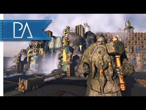 Siege of the Dwarven Dam: Greenskin Invasion - Total War: WARHAMMER Gameplay