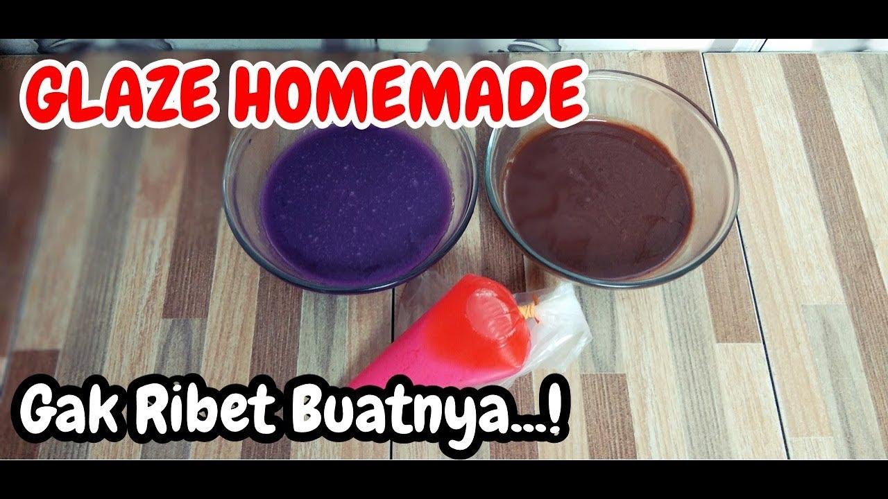 Gak Pake Ribet Cara Bikin Sendiri Glaze Dari Coklat Batang
