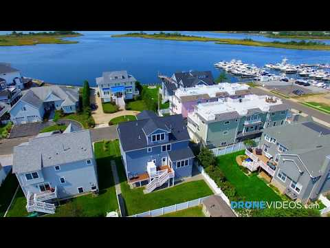 Drone Video of Home In Sea Bright, NJ Right Near the Water Filmed by DroneVideos.com