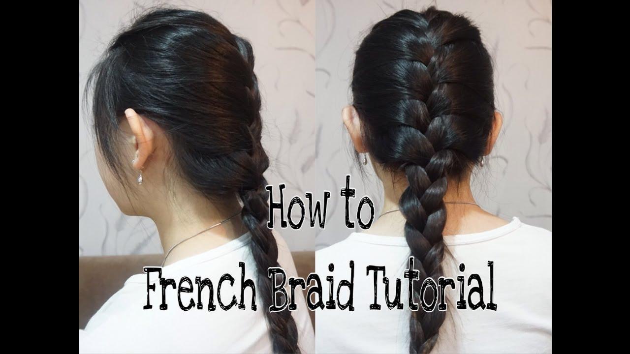 Hairstyle Tutorial: How To Basic French Braid  Cara Membuat Kepang  Sederhana