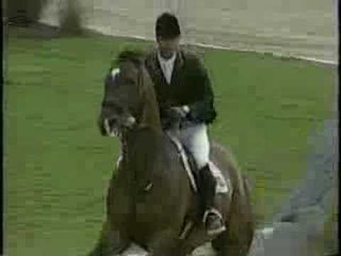 Loro Piana Tomboy: most powerful showjumper ever!