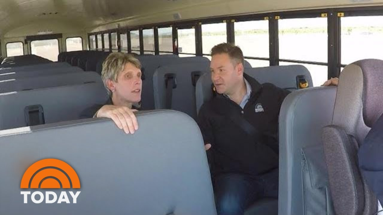 Rossen Reports: New School Bus Technology Will Help Prevent Crashes   TODAY