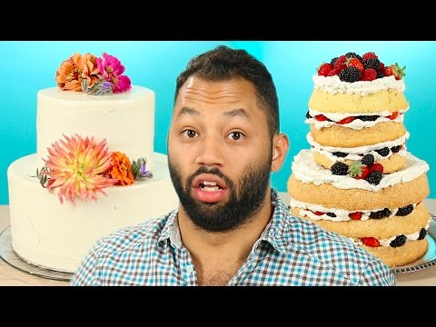 Single People Taste Wedding Cakes