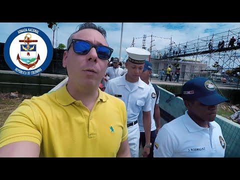 BUQUE GLORIA - ARMADA NACIONAL - BARRANQUILLA