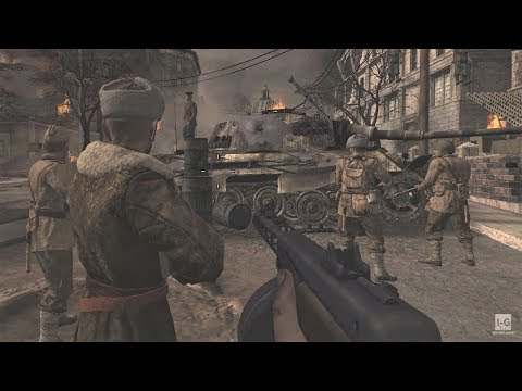 WW2 - Soviet Army at the Reichstag - Berlin - Call of Duty World at War