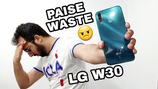 LG W30 - Gaming Review 😠