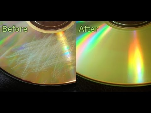 How To Remove Scratches From Your Disc [HD]