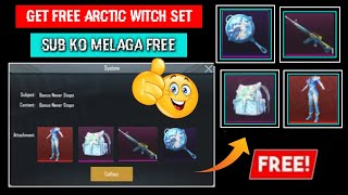 New VPN Trick! Get Free Arctic Witch Set and permanent Backpack Skin | Free all Arctic event items