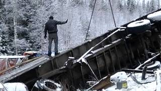 �������� ���� Подъезды к Первоуральску оккупировали дальнобойщики ������