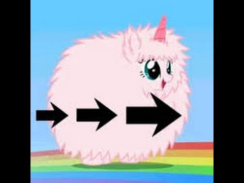 Pink Fluffy Unicorn - Speed: X2, X4, X8, X20!!!