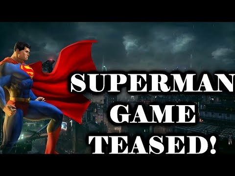 Superman Game TEASED by Rocksteady?!