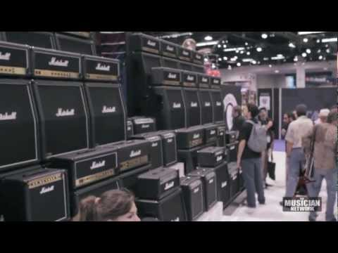 MARSHALL - NAMM 2013 - Booth Walkthru (Raw Footage)