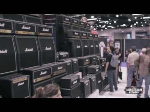 MARSHALL - NAMM 2013 - Booth Walkthru (Raw Footage)