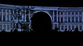 """3D-Show """"Russische Gegenwart"""" in St. Petersburg"""
