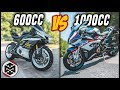 6 Reasons You Should Buy a 1000cc Motorcycle, NOT 600cc