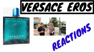 Versace Eros Review Fragrance Reactions