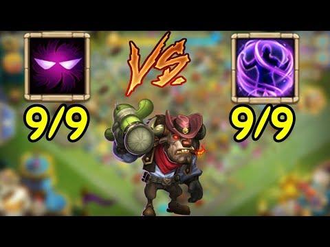 Mino L 9 Unholy Pact VS 9 Iron Will L Castle Clash