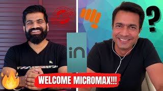 "The SECRET Plans Of MICROMAX | ""IN"" Smartphone Launch 