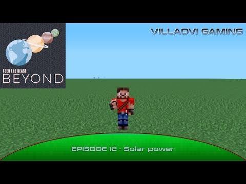 FTB Beyond - Episode 12 - Solar power