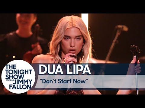 "Dua Lipa Performs ""Don't Start Now"" & Discusses New Music"