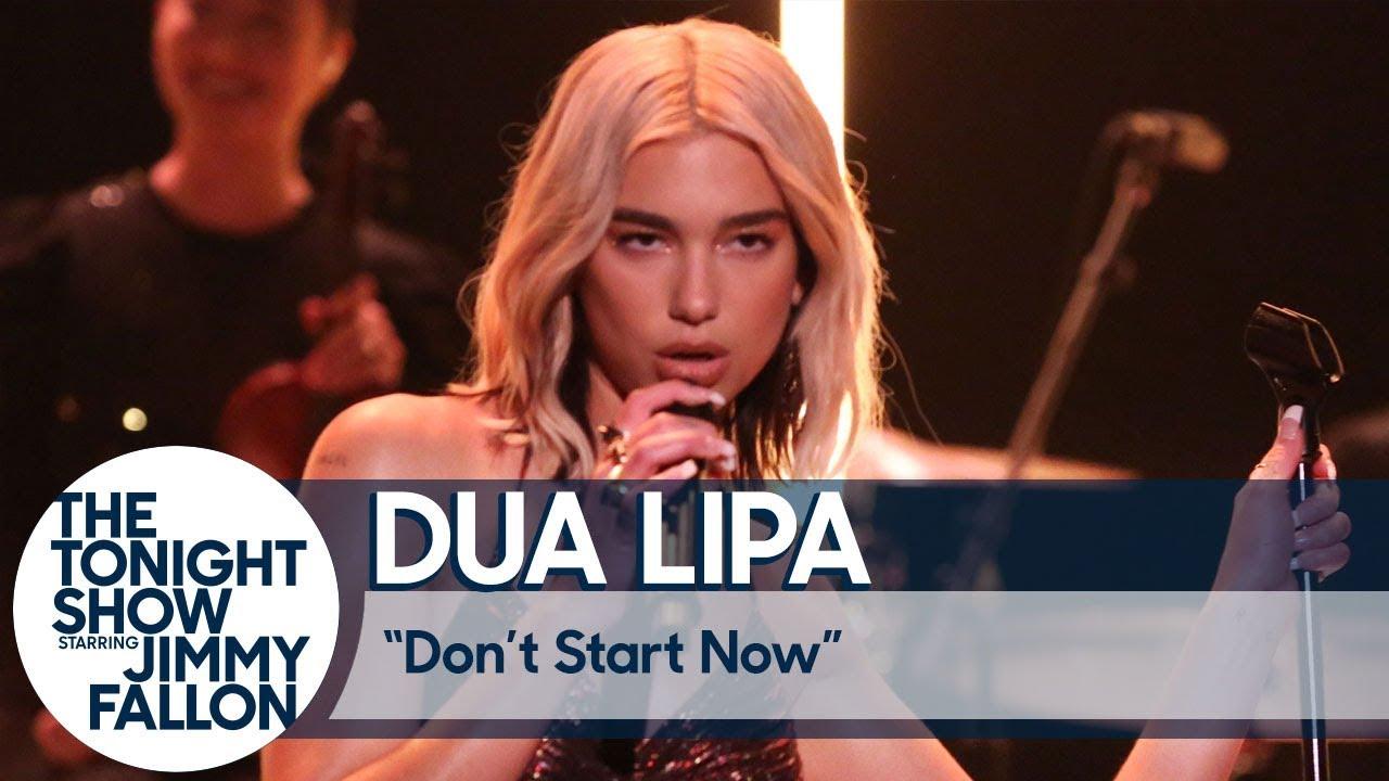DUA LIPA Exclusive Online Performance From Studio 2054