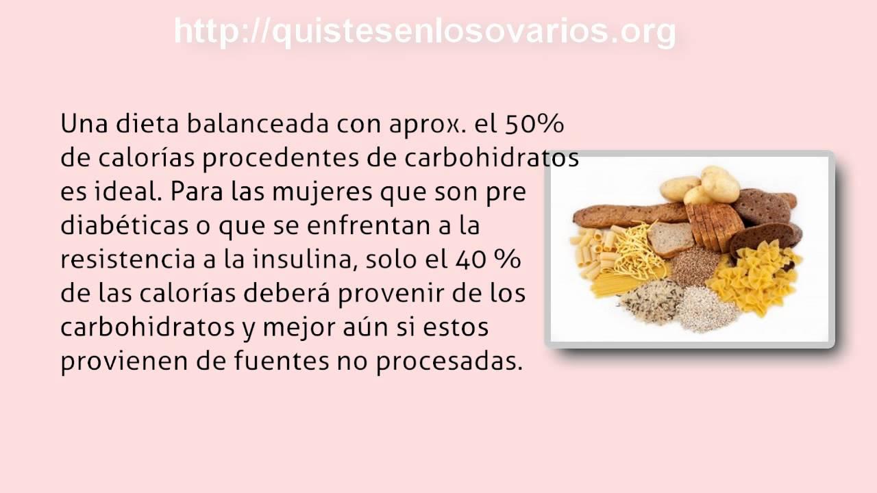 Sindrome ovario poliquistico dieta