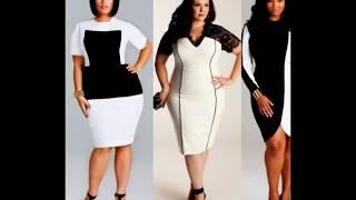 Платье белого цвета для полных женщин