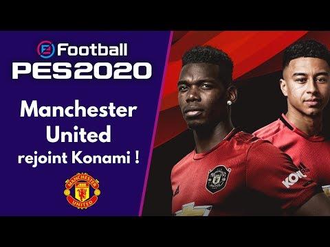 PES 2020 : Manchester United, nouvelle équipe partenaire ! Mon avis + Analyse du trailer !