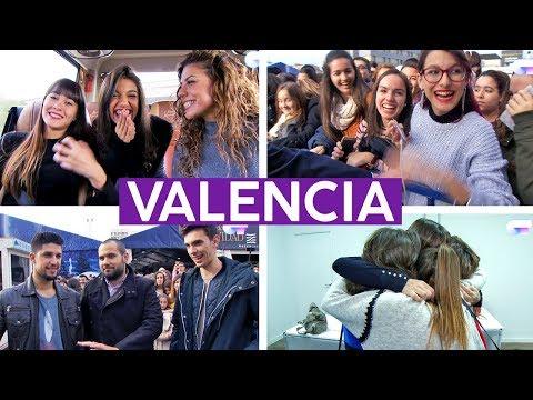 FIRMA DE DISCOS en VALENCIA con AITANA, ANA GUERRA y MIRIAM | OT 2017
