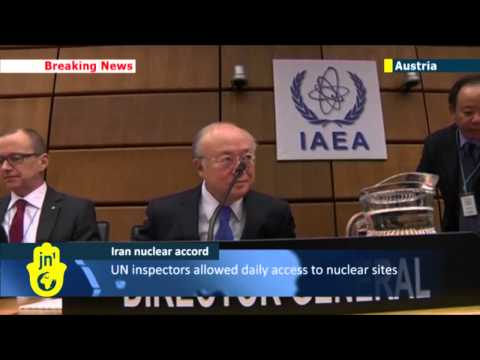 Atomic Iran: UN watchdog chief says Iran promises to begin implementing nuclear deal in January